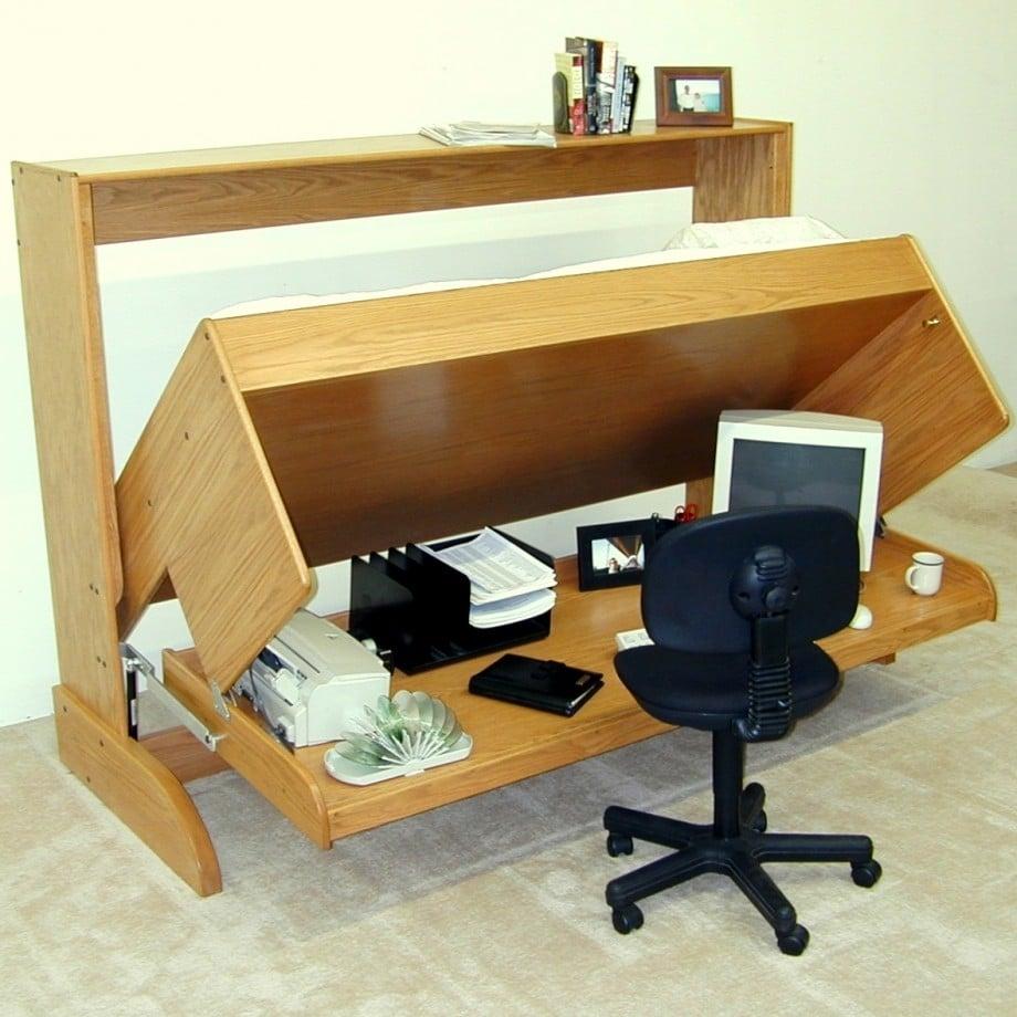 scrivania-fai-da-te-letto