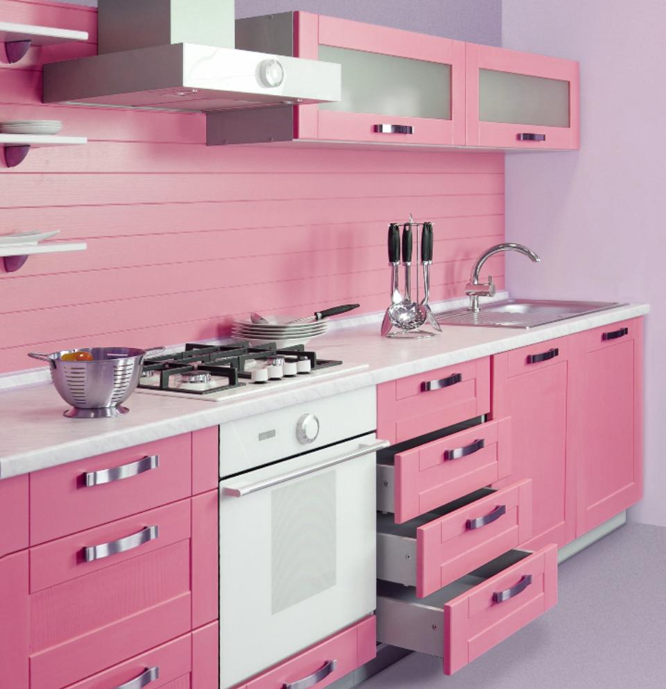 arredare-cucina-rosa-15