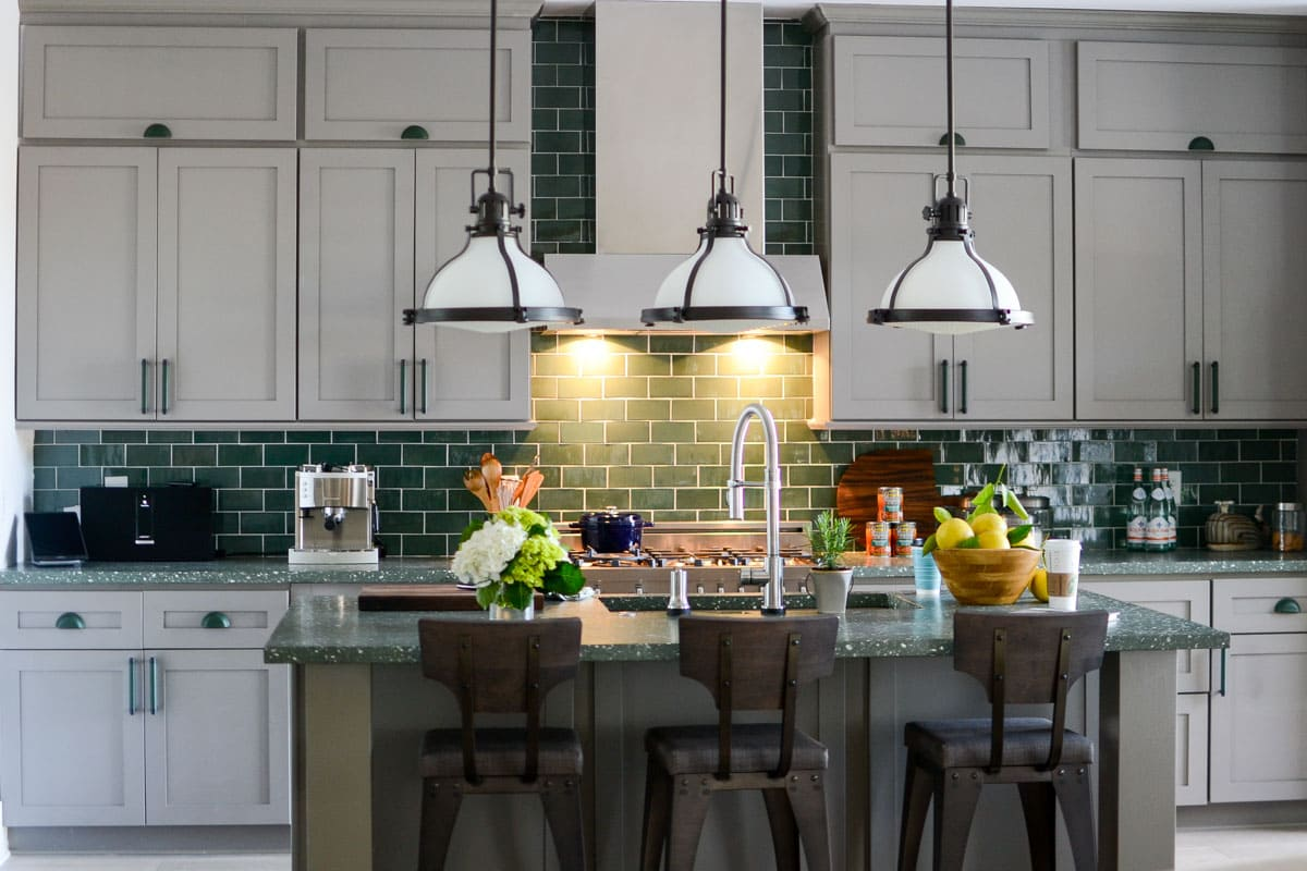 decorare-una-cucina-in-verde-1