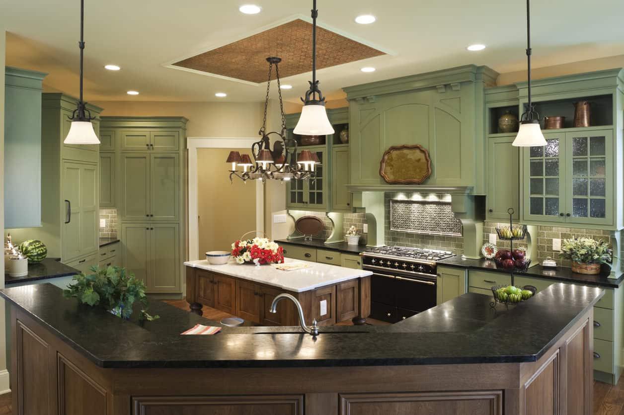 decorare-una-cucina-in-verde-3