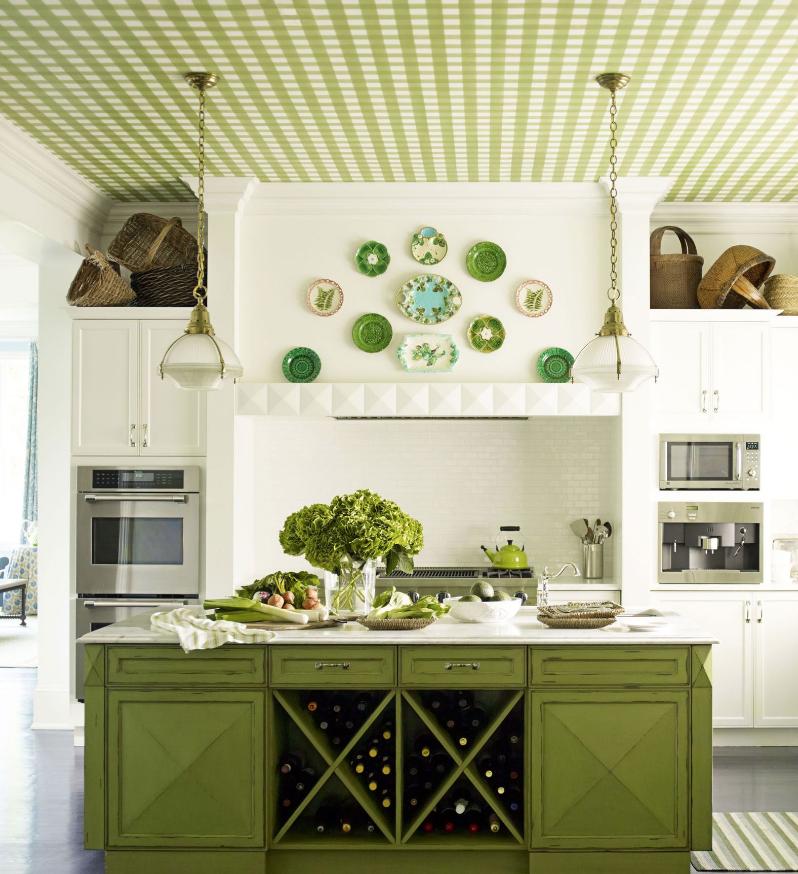decorare-una-cucina-in-verde-5