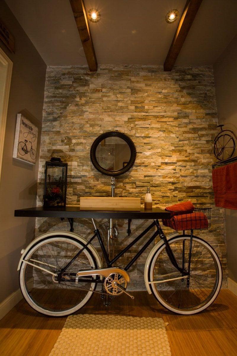 riciclare-bici-tavolino