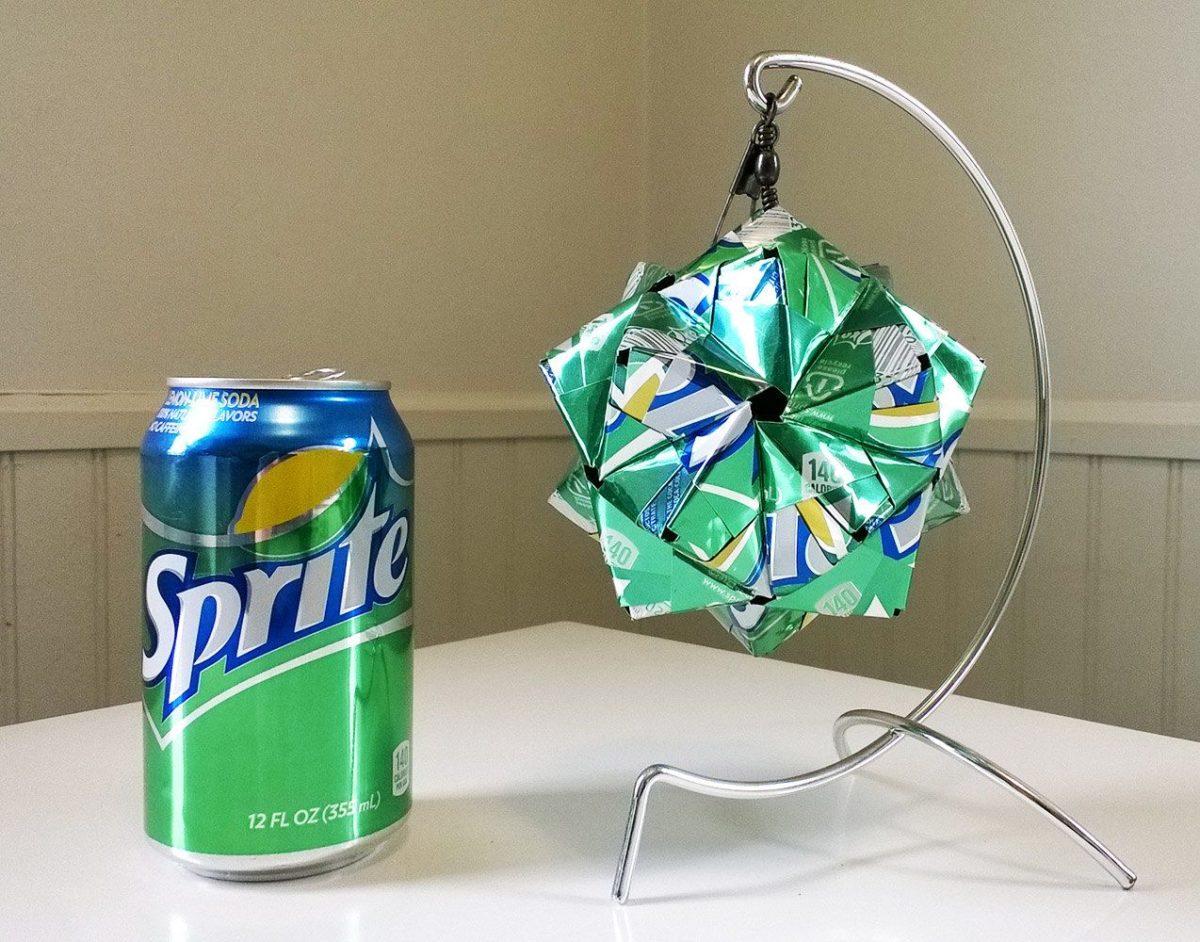 riciclare-lattine-origami