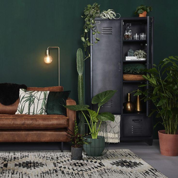 soggiorno-verde-10-idee-di-arredo-8-industrial