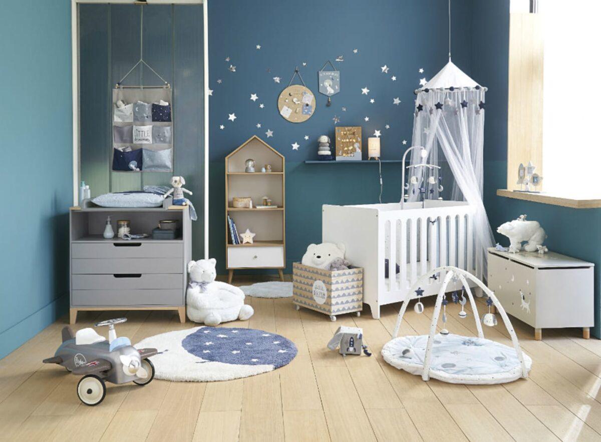 I colori più adatti per la cameretta dei neonati