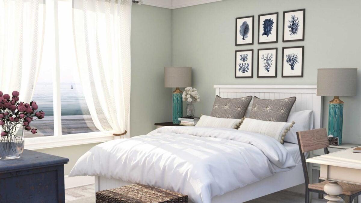 Estate 2021: lo stile coastal per la tua camera da letto