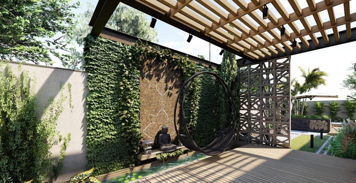 Ecco come arredare un giardino in stile Industrial