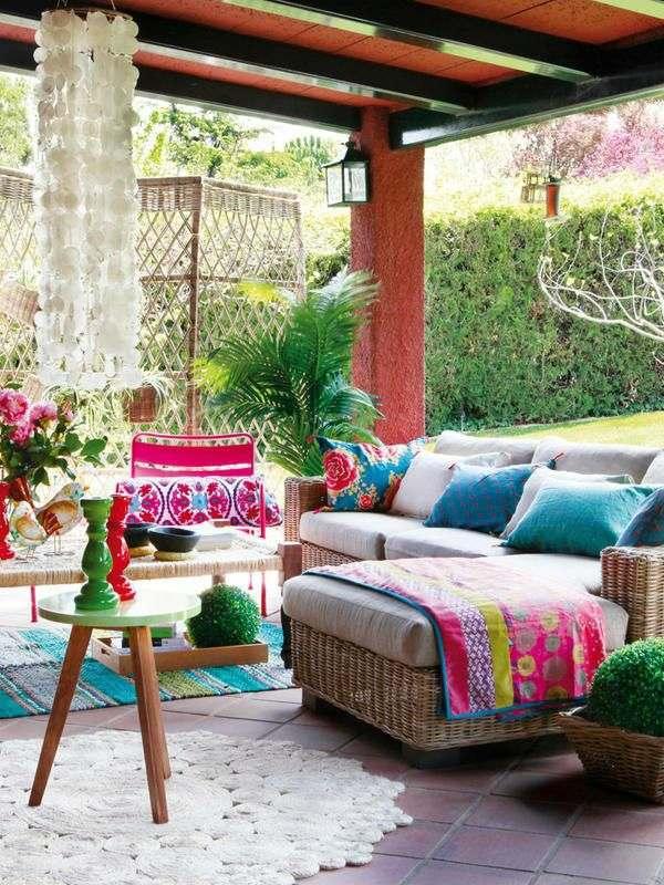 Come arredare il terrazzo in stile messicano