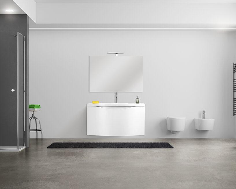 Gli abbinamenti migliori per un bagno in bianco