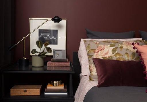 color-vinaccia-camera-letto-parete