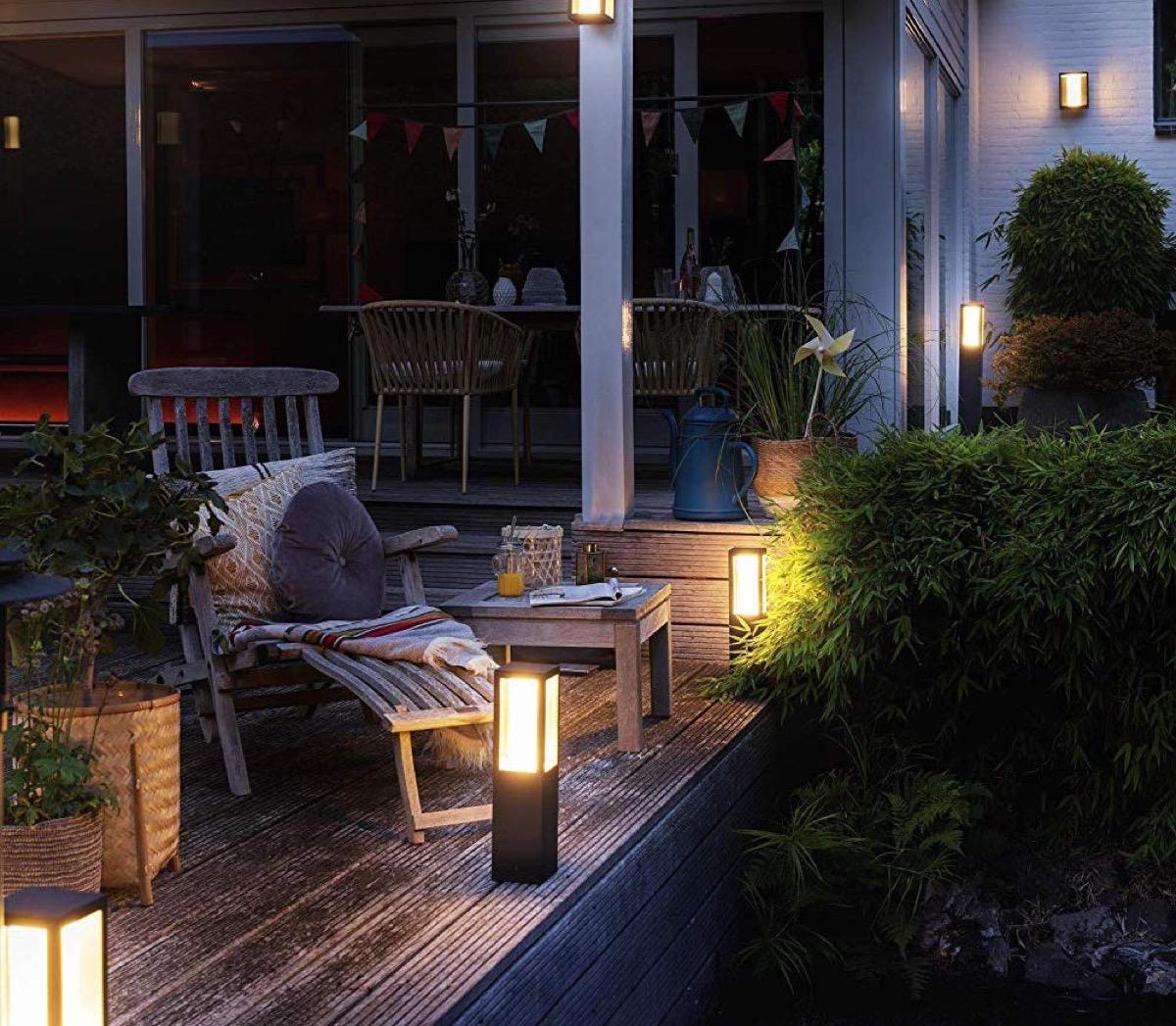 Come progettare l'illuminazione del giardino