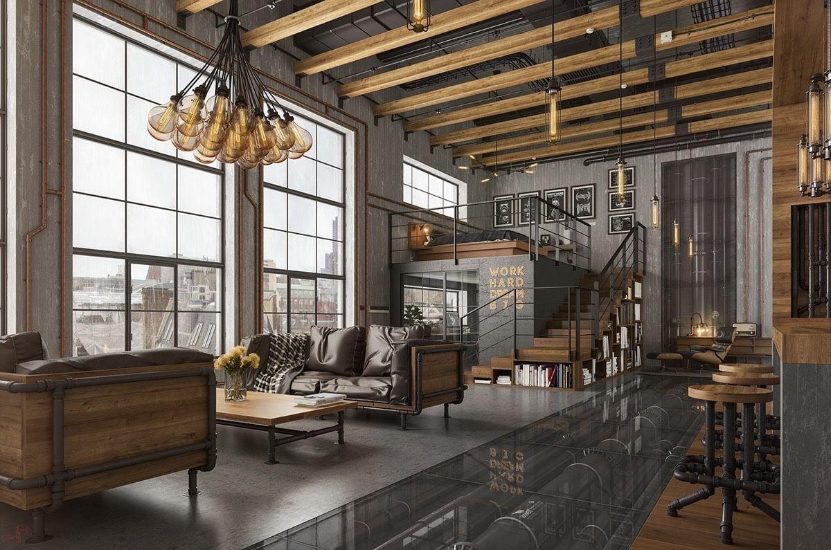 7 Consigli Utili Per Arredare Un Open Space In Stile Industriale