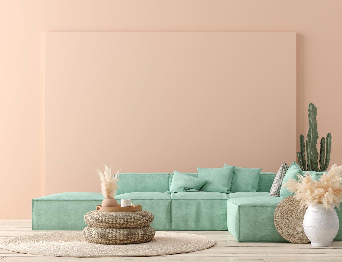 soggiorno-rosa-salmone