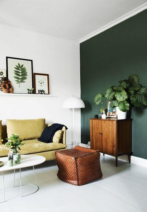 soggiorno-verde