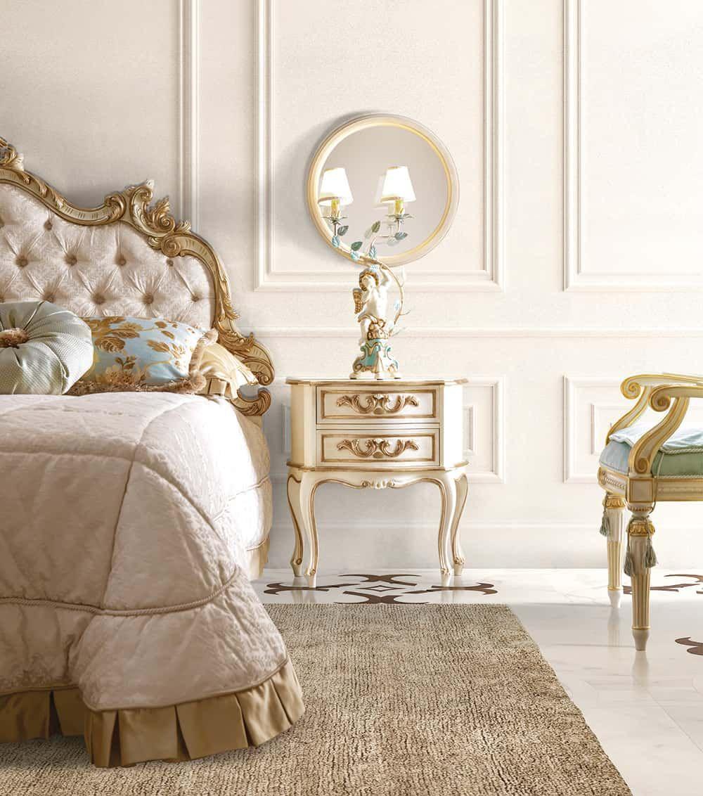 Camera da letto stile fiorentino: romantica e
