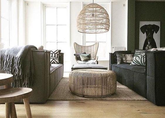 Idee low coast per l'illuminazione del soggiorno