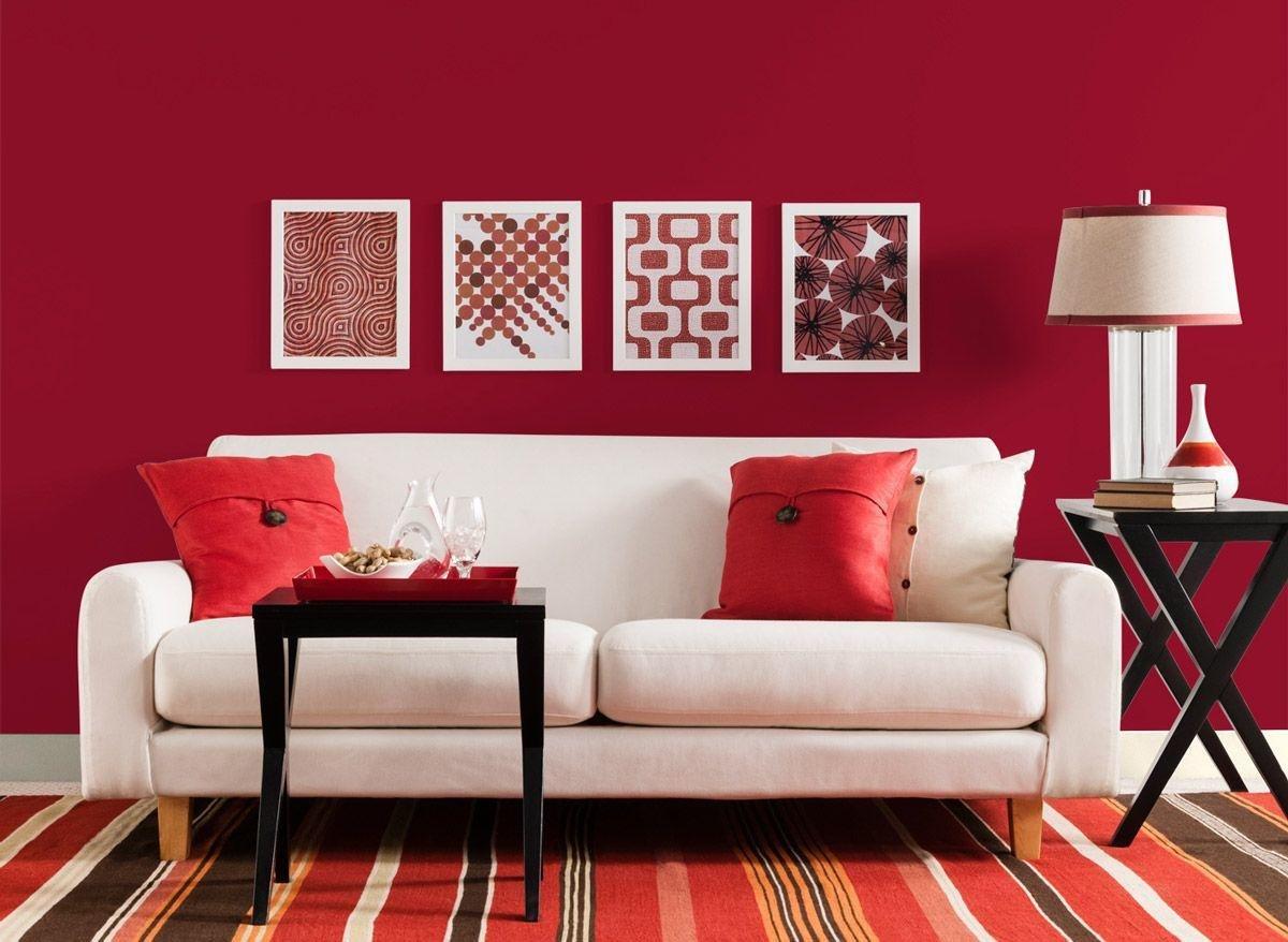 Rosso pomodoro: abbinamenti e consigli per arredare casa