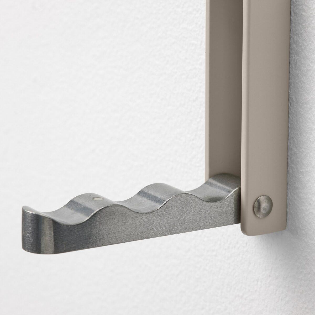 ikea-klyket-gancio-pieghevole-alluminio-beige