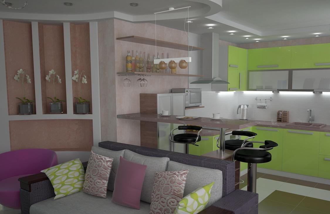 Arredare una cucina soggiorno di soli 20 mq: la soluzione ...