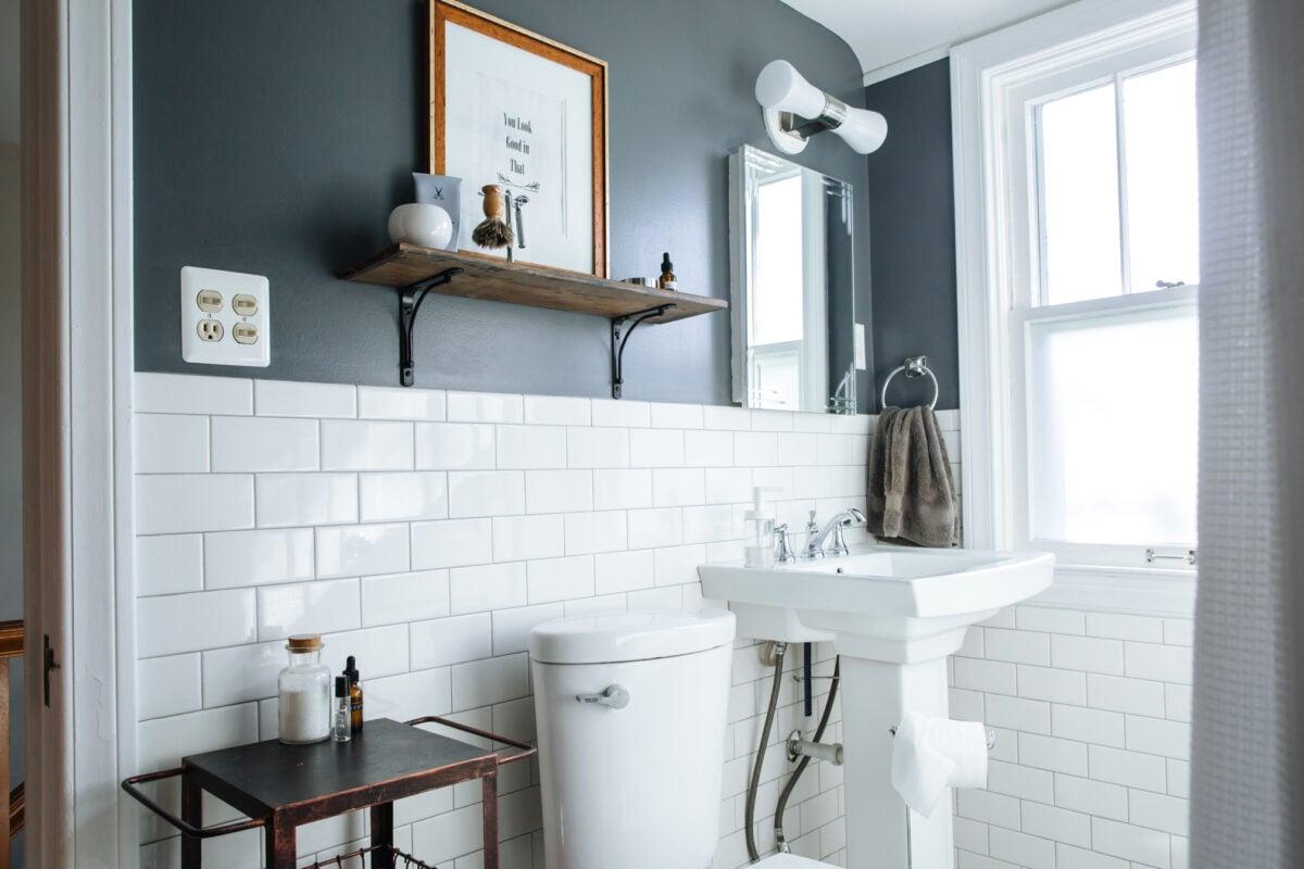 8 idee originali per tenere il bagno sempre in ordine