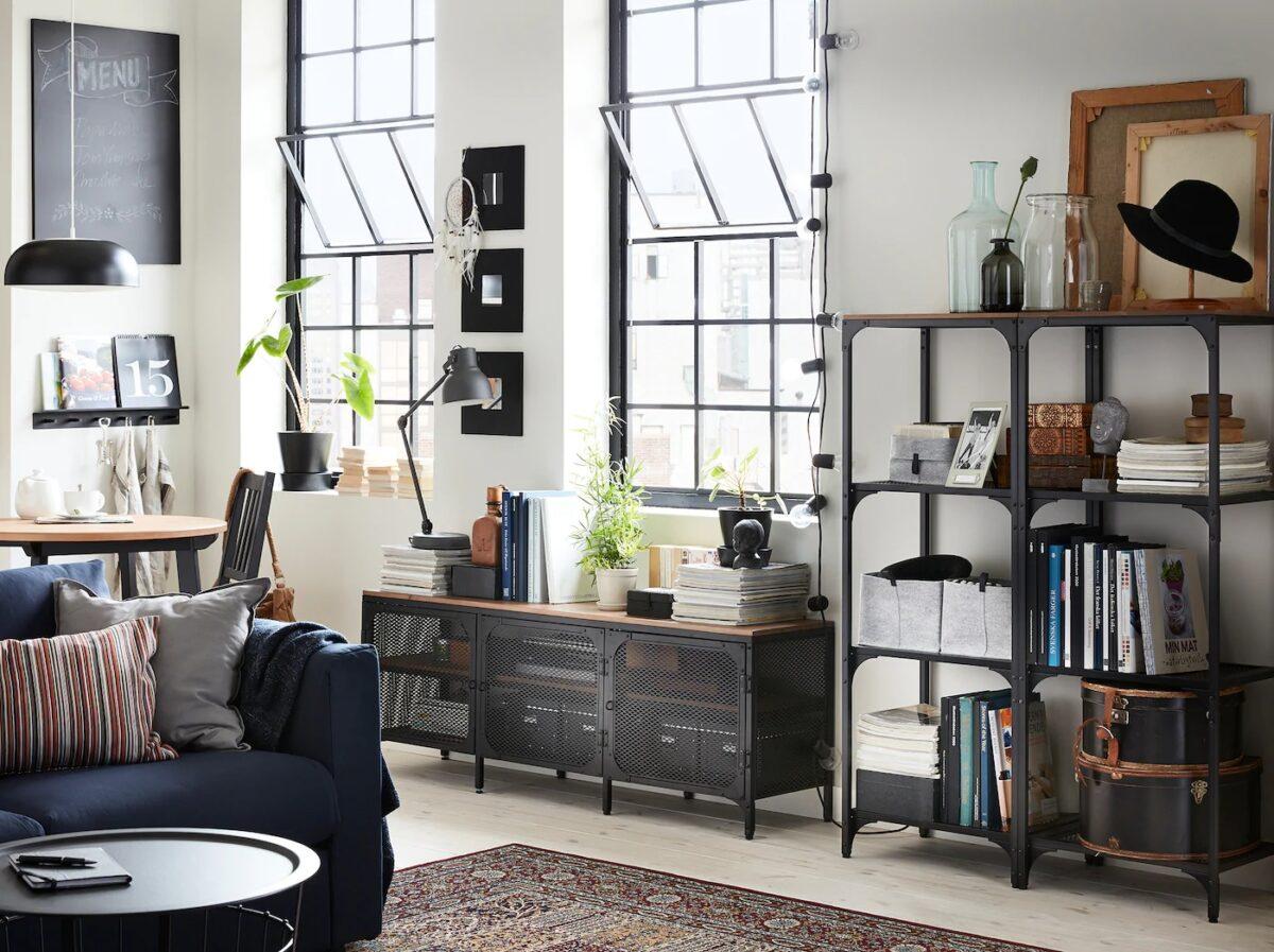 Come Arredare Casa In Stile Industriale Con Ikea