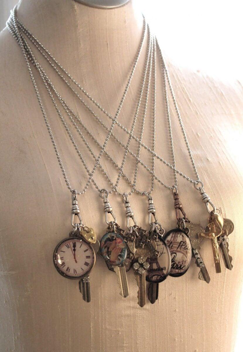 riciclo-vecchie-chiavi-gioielli