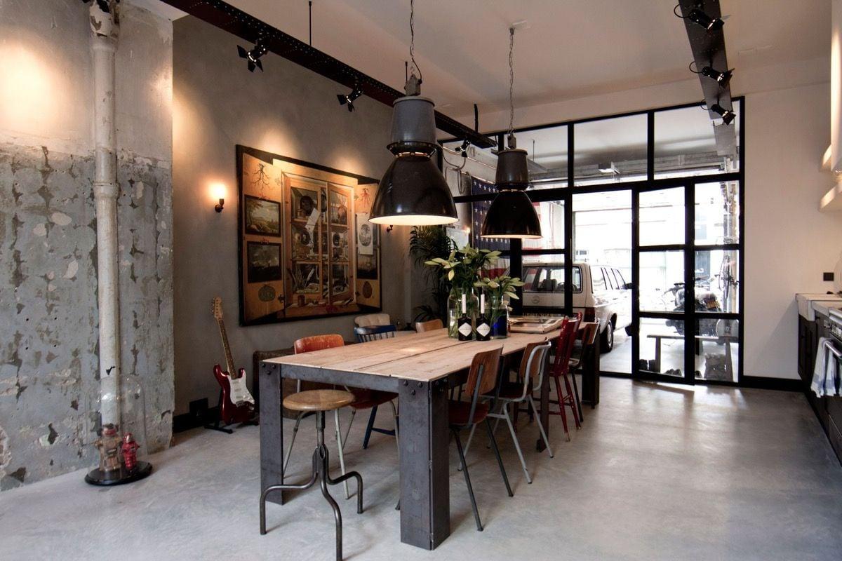 arredare-sala-pranzo-stile-industriale-5