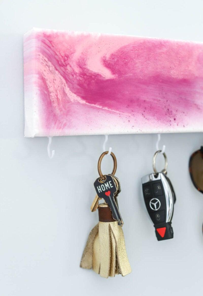 3 idee per creare una bacheca per le chiavi
