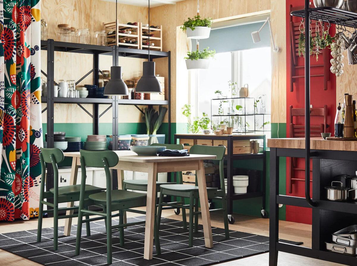 IKEA sale da pranzo catalogo 2021: il nuovo menù in tavola