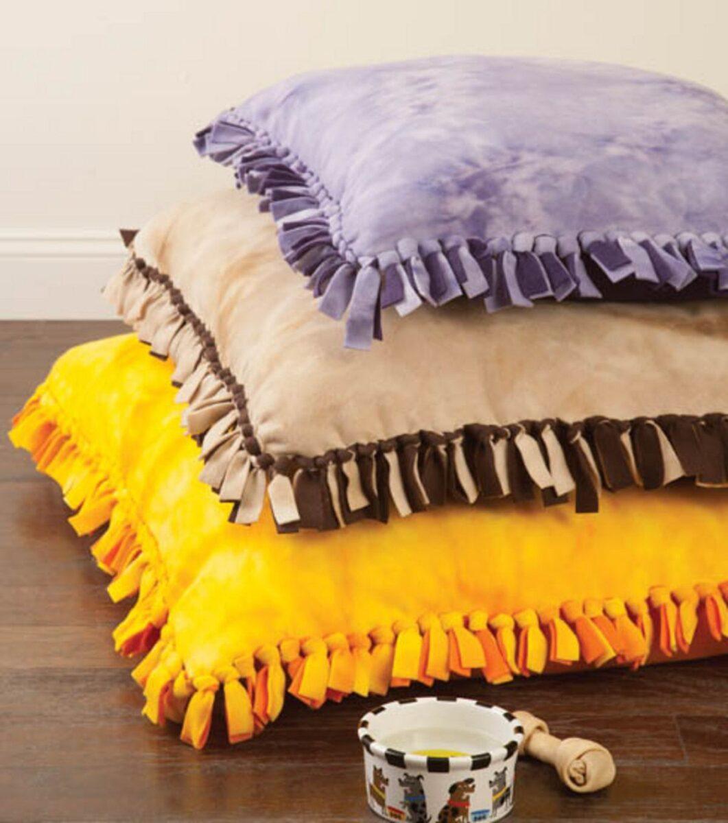 Come creare un cuscino fai da te per cani 4