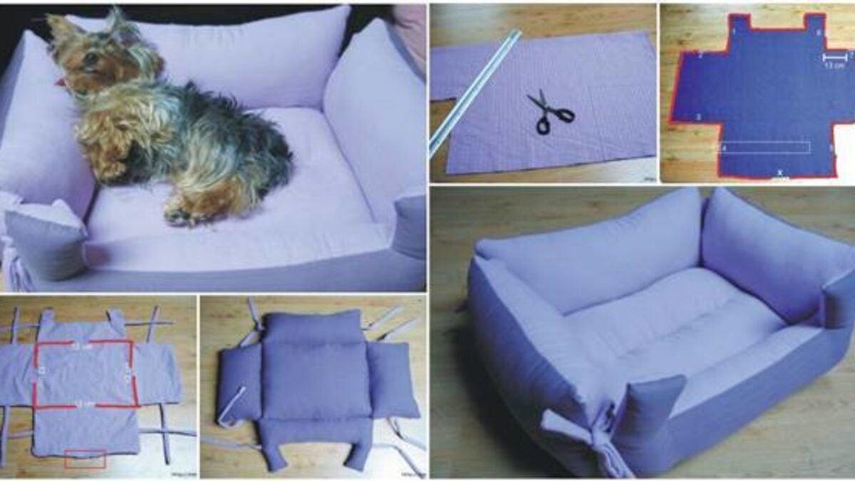 Come creare un cuscino fai da te per cani