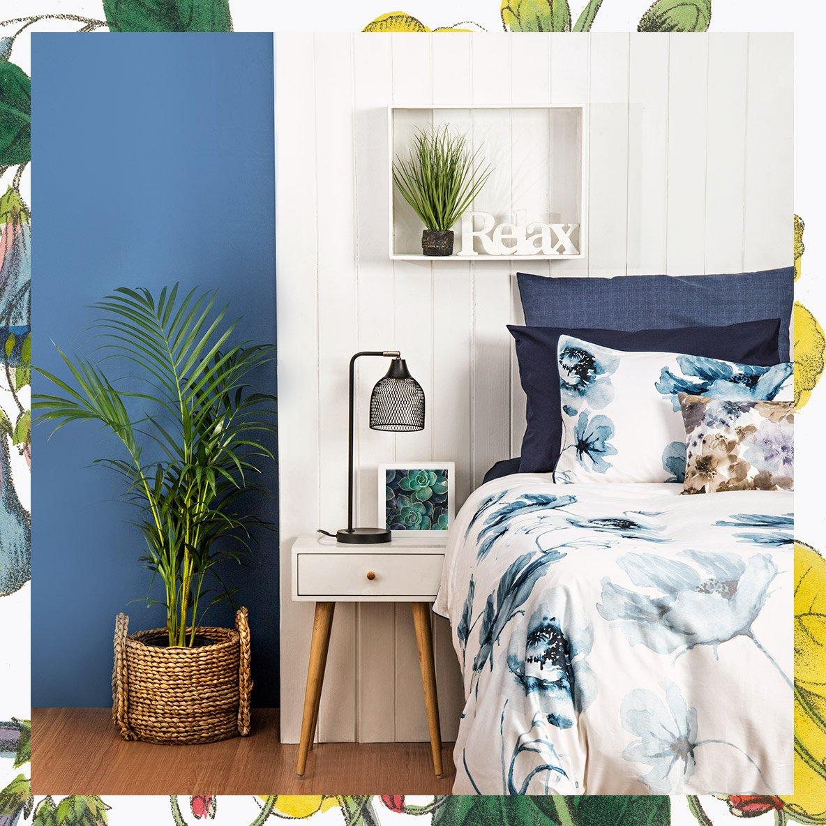 abbellire-casa-piante-botaniche-cameraletto