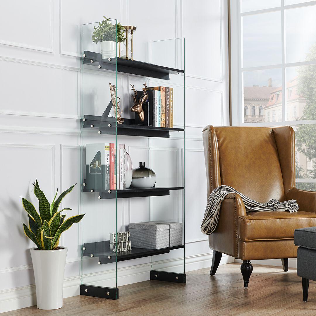 librerie-muro-moderne-vetro