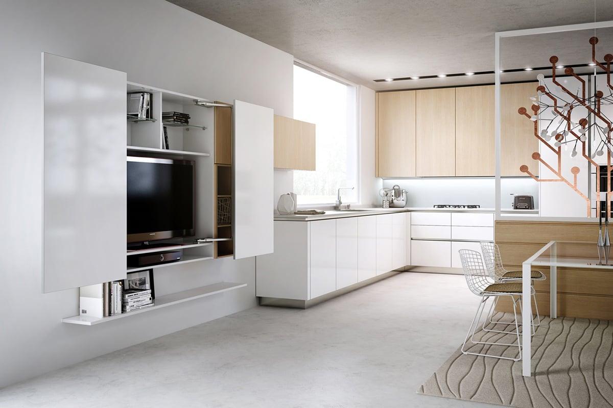 Come-e-dove-appendere-la-tv-in-cucina 8