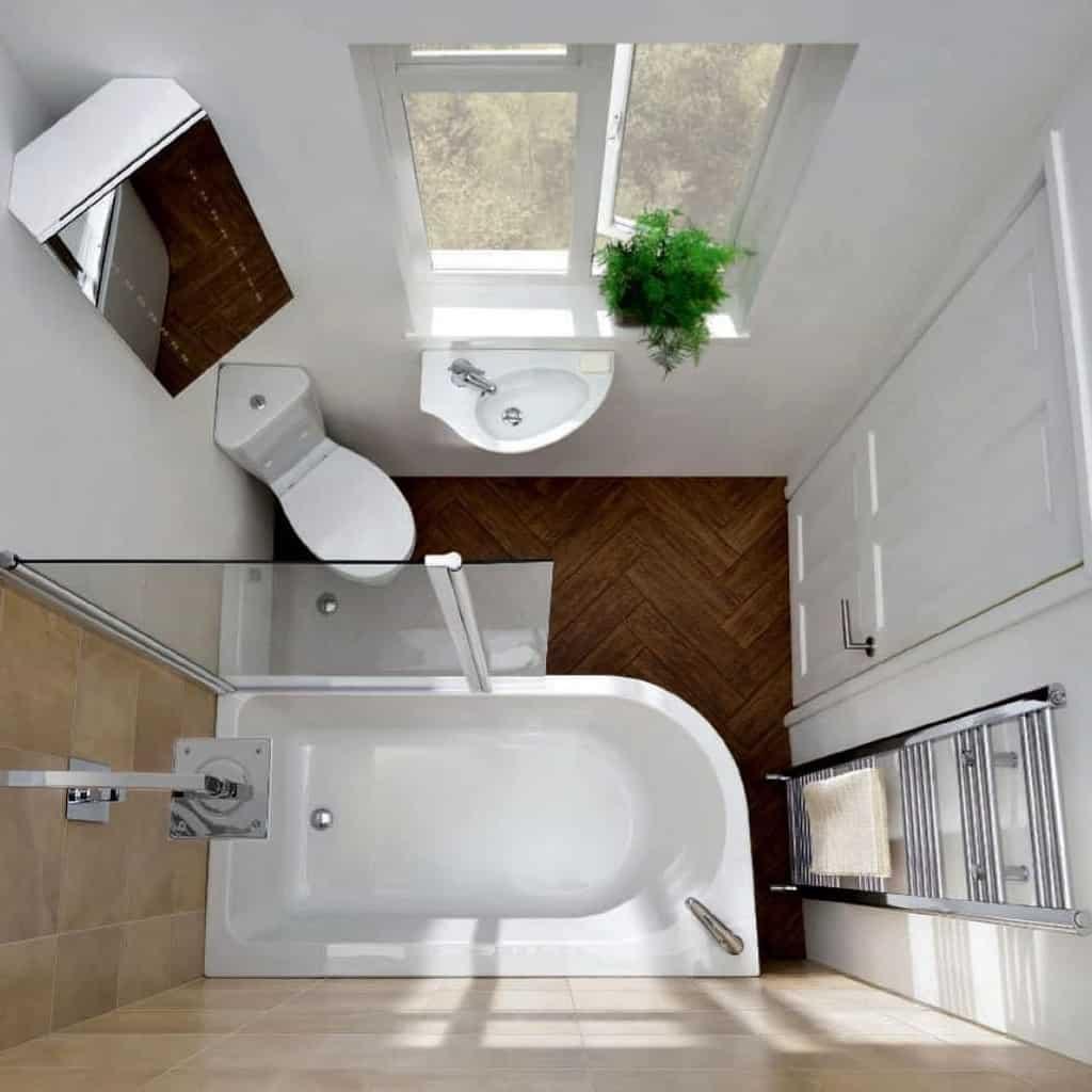 5 decorazioni stupende per un bagno piccolo