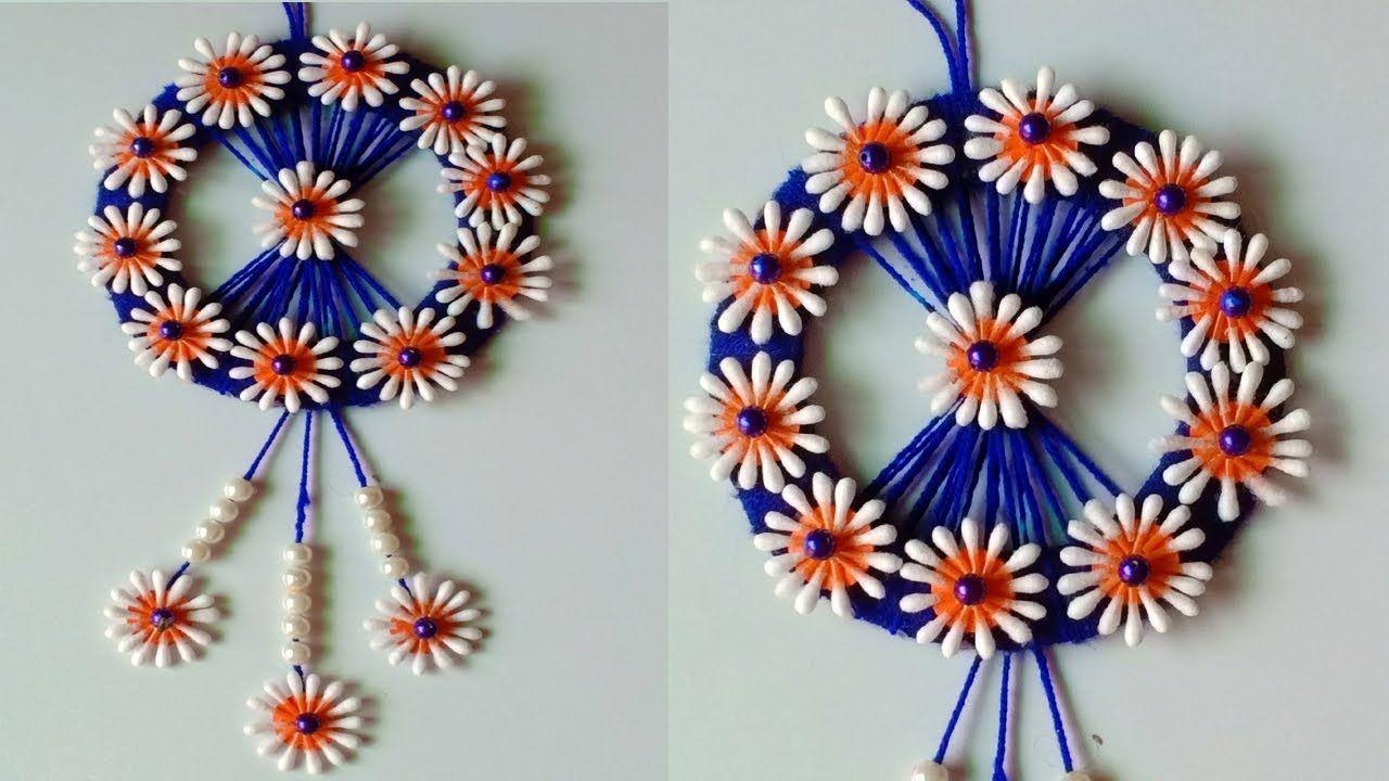 decorazioni-cotton-fioc-ghirlanda