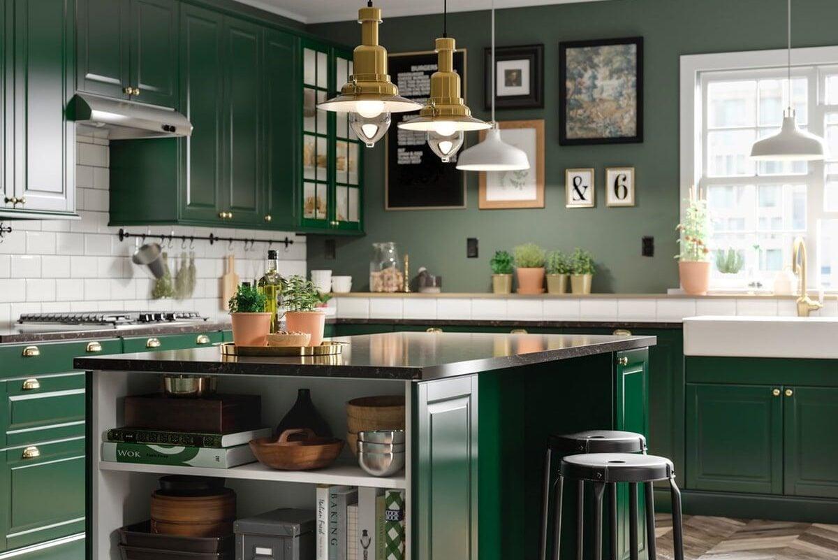 Cucina IKEA con isola