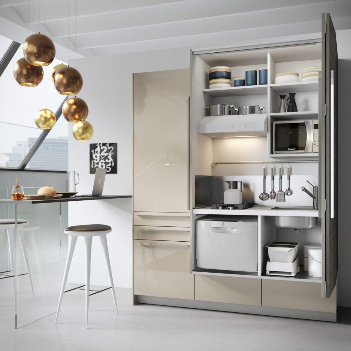 Cucina monoblocco: idee, progetti, prezzi