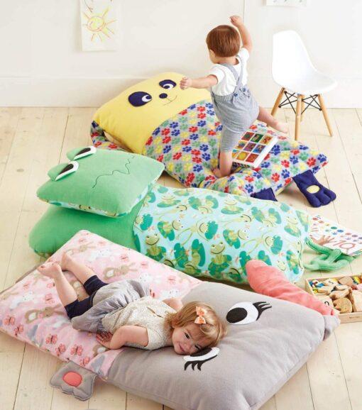 14 idee di cuscini per i tuoi bimbi
