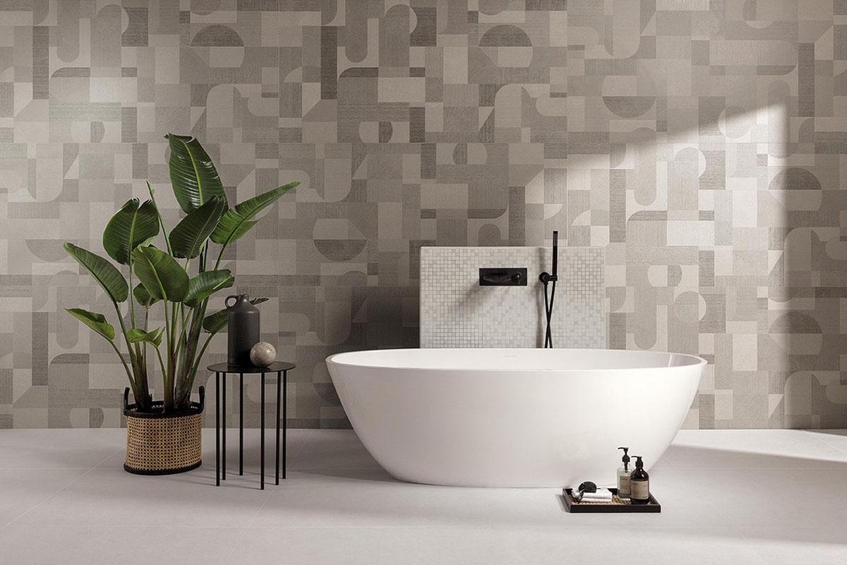 Abbellire le piastrelle del bagno