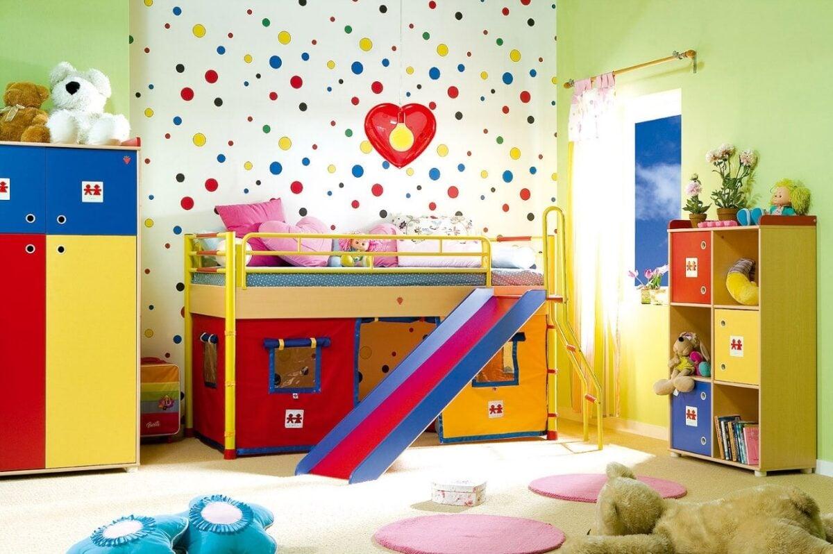Come abbellire la cameretta dei bimbi e renderla bellissima e funzionale ARTICOLO