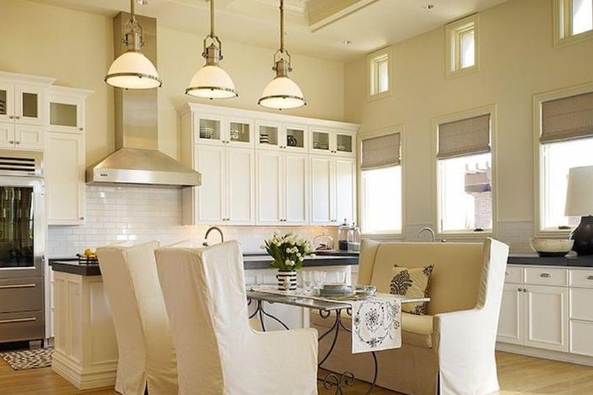 Cucina con pareti color sabbia: 7 soluzioni per tutti gli stili