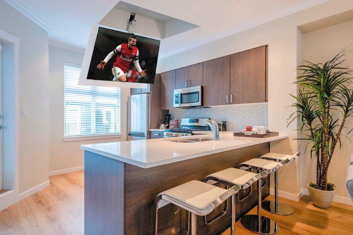 Dove mettere la tv in cucina