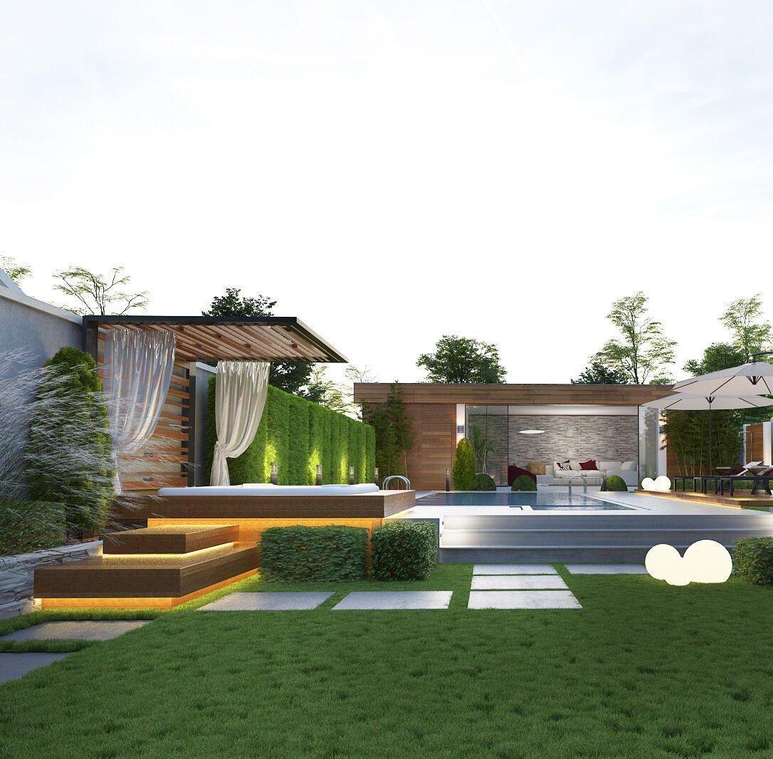giardino-moderno-piscina
