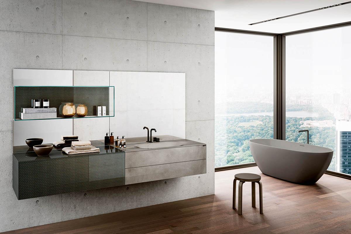 Lavabo bagno in resina o ceramica: pro e contro
