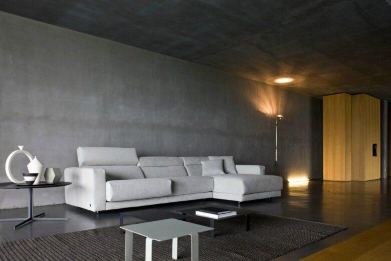 Parete in cemento: 8 idee a cui ispirarti