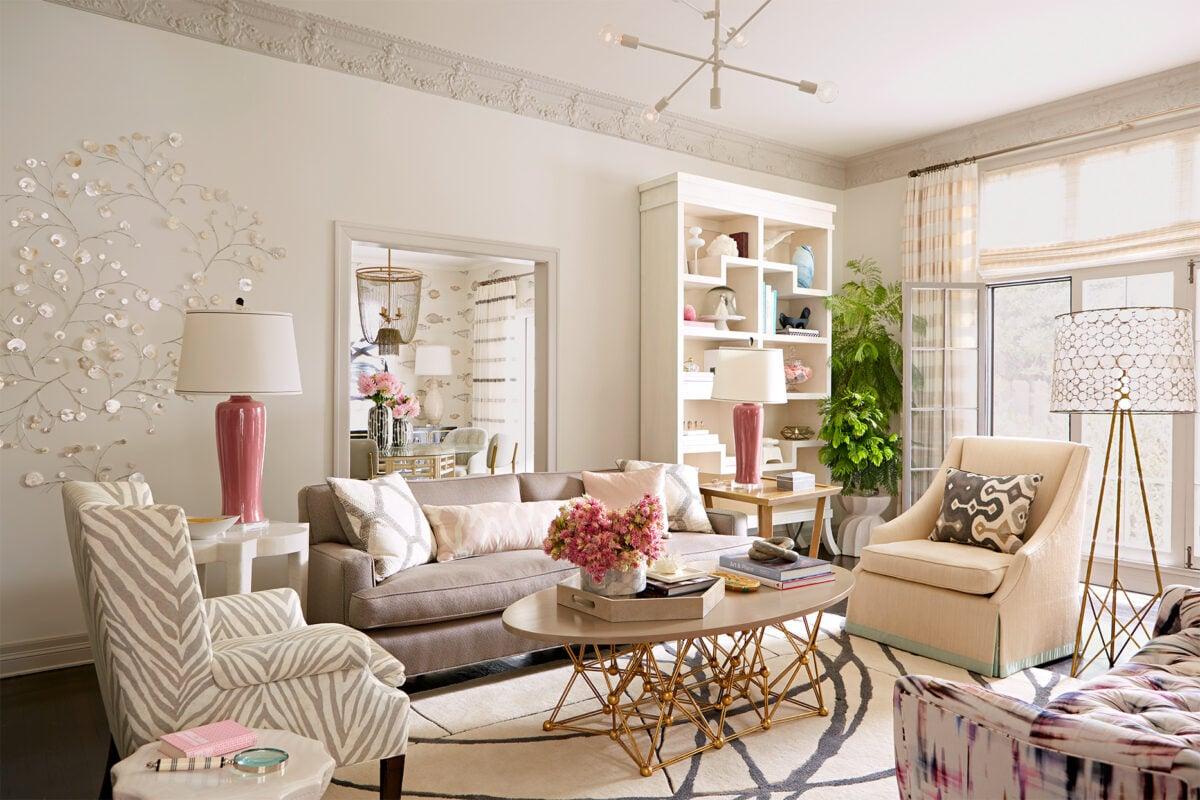 Pareti del soggiorno color panna: soluzioni per diversi ...
