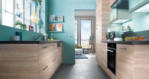 Cucina pareti verdi: tutte le sfumature per una cucina elegante