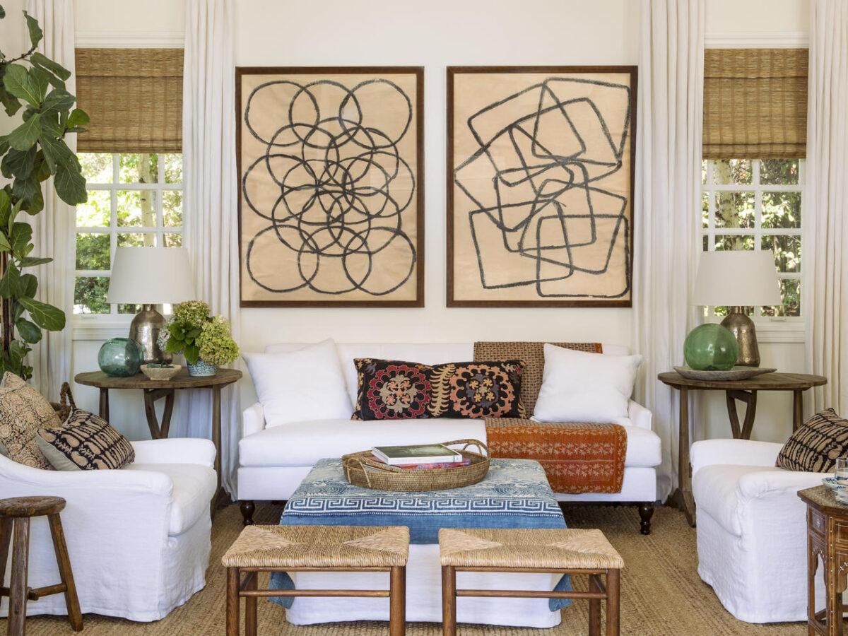 Master Bedroom designed by Amber Lewis.
