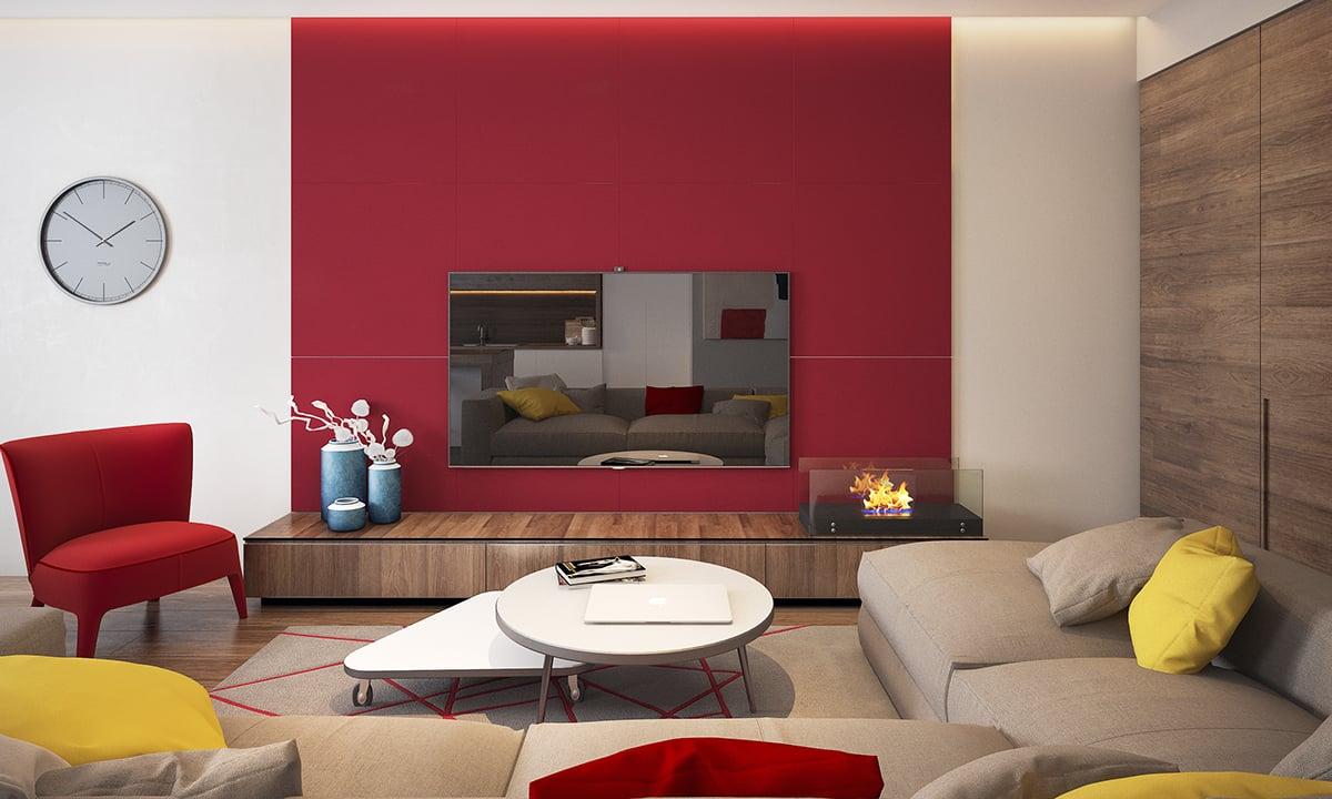 Feng shui: scopri i colori ideali per il soggiorno